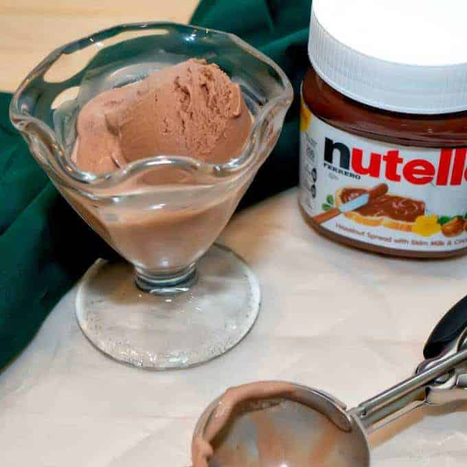 Frozen Nutella Yogurt is a luscious frozen dessert that's a true treat on hot summer days.