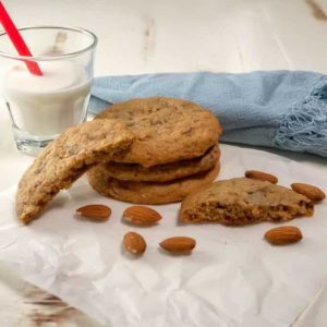 Almond Toffee Cookies
