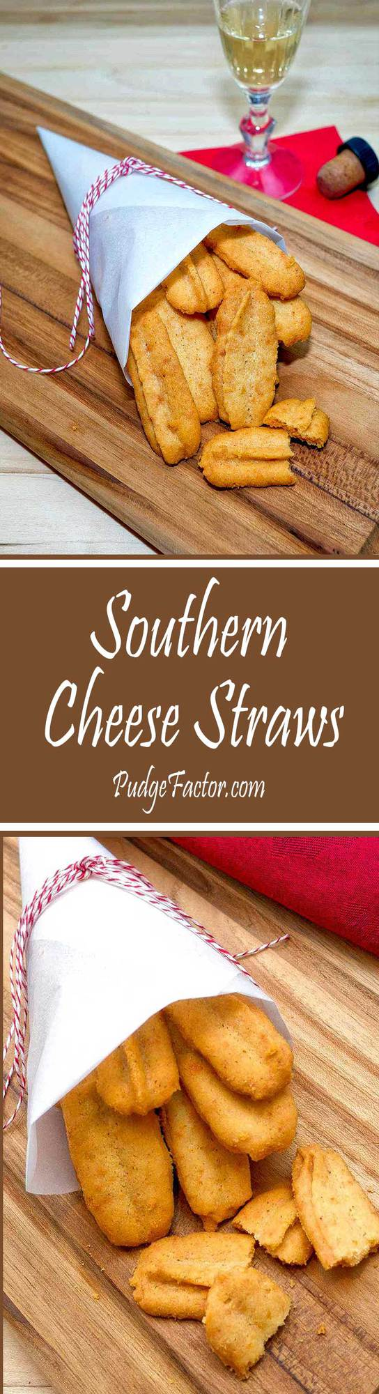 Crispy and buttery, these highly addictive cheese straws are a true southern classic.