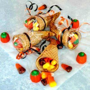 Halloween Cornucopia Treats