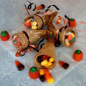 Cornucopia Halloween Treats