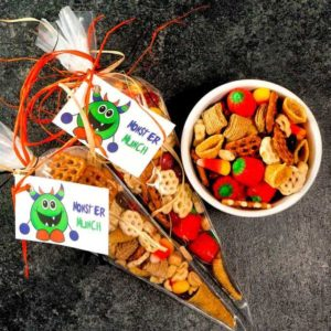 Perfect for an afternoon snack, Halloween Party, or Trick or Treat surprise for neighborhood kids young and old.