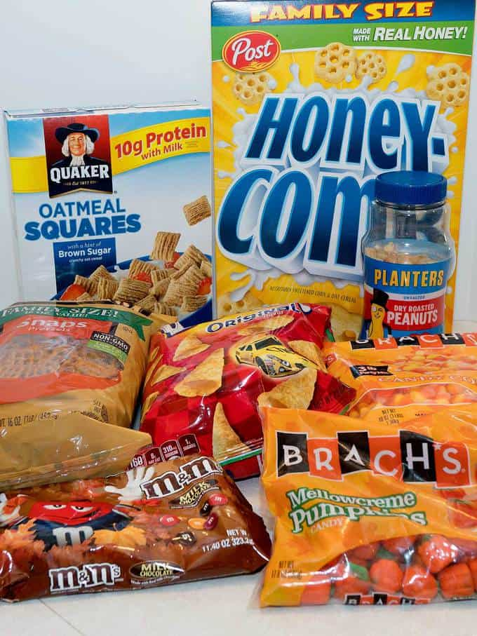 Monster Munch ingredients