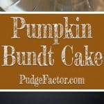 Moist and delicious - the perfect dessert for your Thanksgiving feast or any fall gathering.