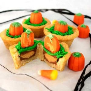 Pumpkin Patch Cookie Cups