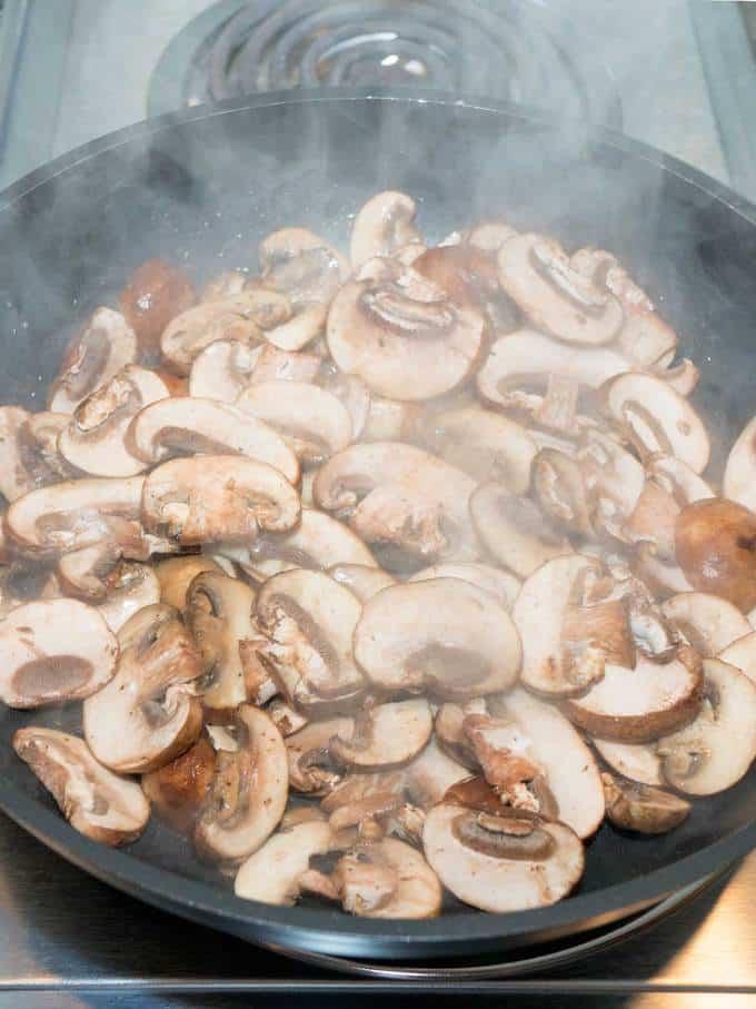 Mushroom Wild Rice Dressing