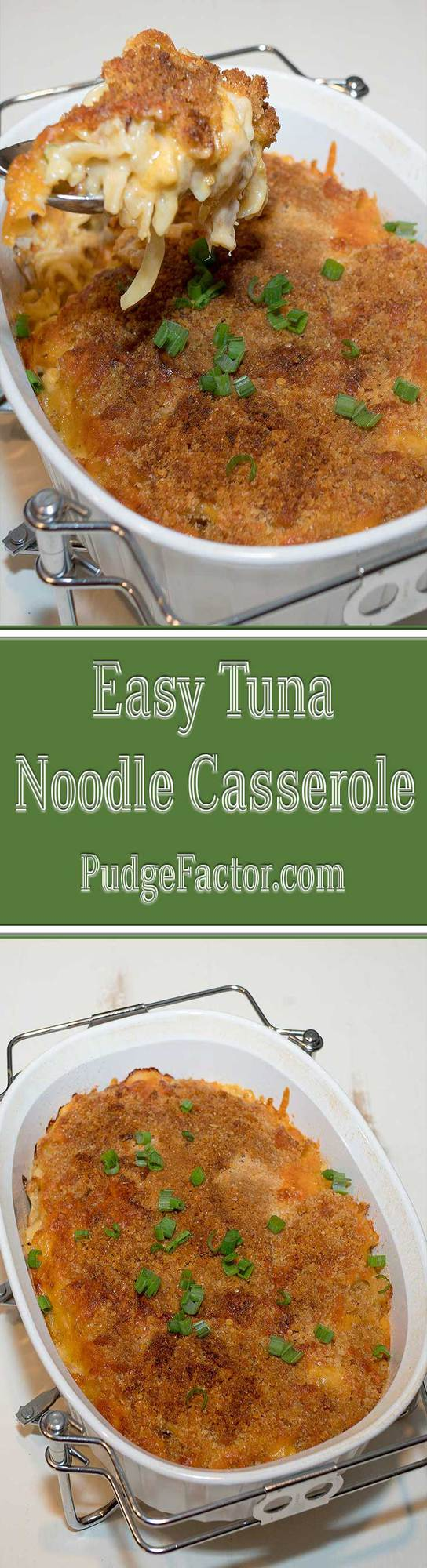 Easy Tuna Noodle Casserole - The Ultimate Comfort Food.