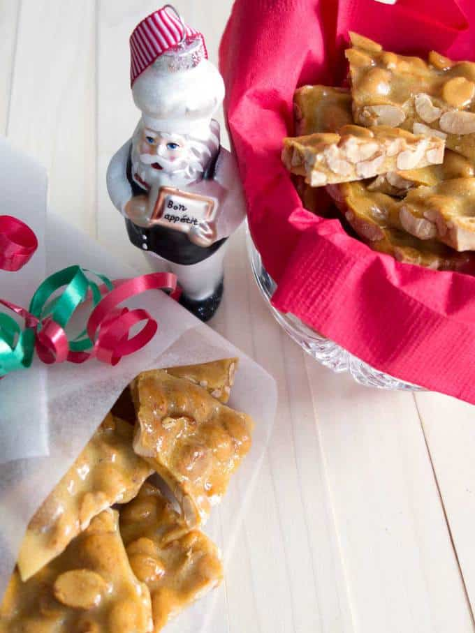 Old-Fashioned Peanut Brittle - The perfect gift for the holidays