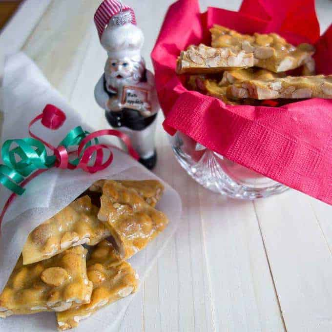 Old-Fashioned Peanut Brittle - The perfect gift for the holidays.