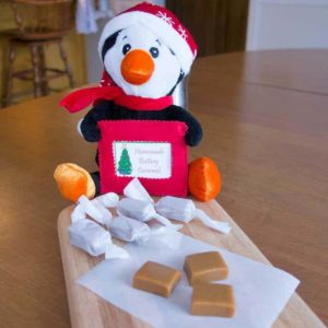 Homemade Buttery Caramels - the perfect combination of soft, chewey, and buttery.