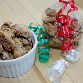Southern candied pecans are a perfect make-ahead holiday gift for your friends and family. They're super simple to make, and stay deliciously crunchy when packaged in air tight containers.