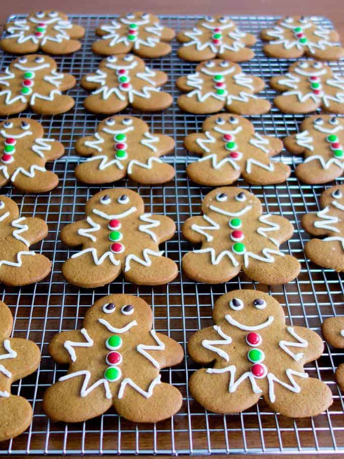 Classic Holiday Gingerbread Men - soft and chewy on the inside with just the right amount of crunch on the outside!