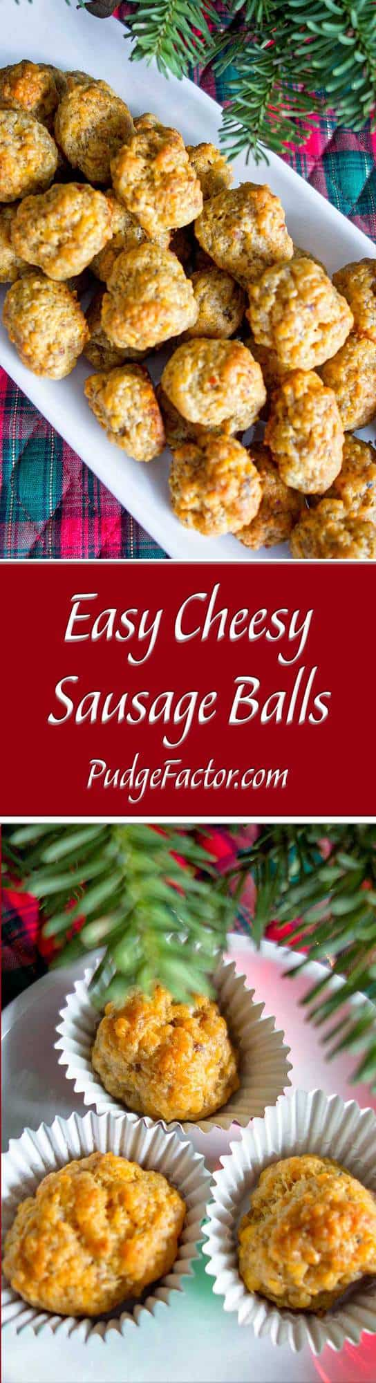 Easy Cheesy Sausage Balls