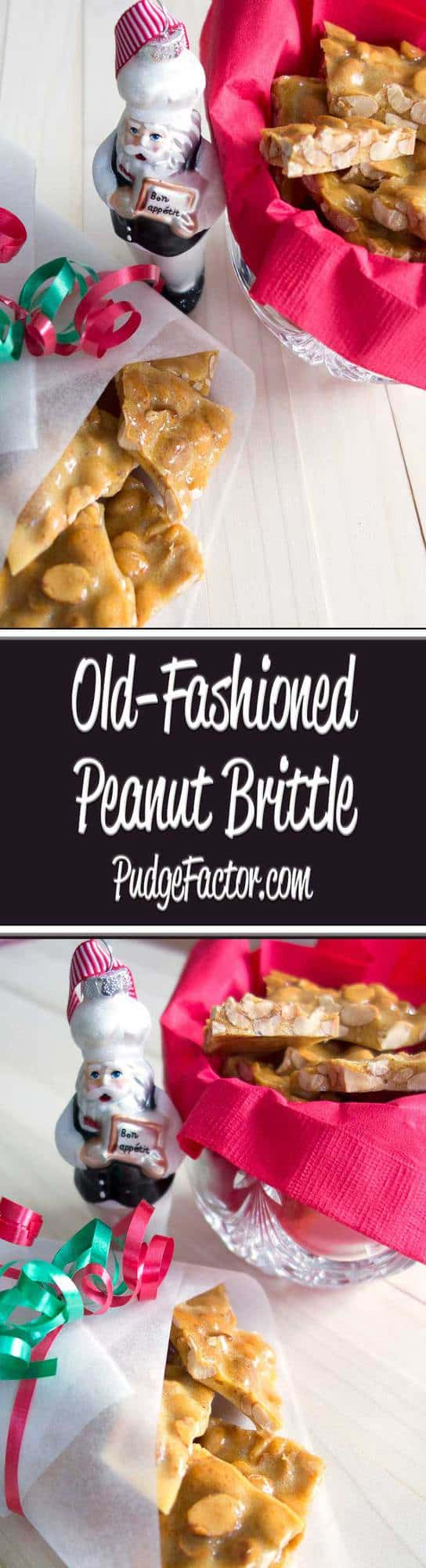 Old-Fashioned Peanut Brittle is the perfect holiday foodie gift for family and friends. It's relatively easy to make, delicious to munch on, and will keep for several weeks in an airtight container.