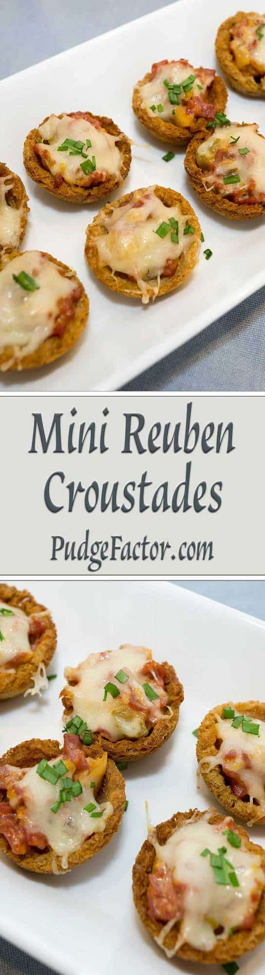 If you like Reuben sandwiches, you'll love these delectable Mini Reuben Croustades. They make the perfect bite-sized appetizer for your holiday gathering.