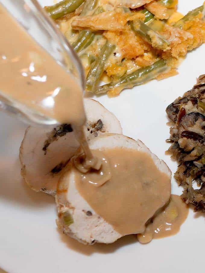Turkey Breast Roulade - an elegant alternative to the traditional roast turkey.