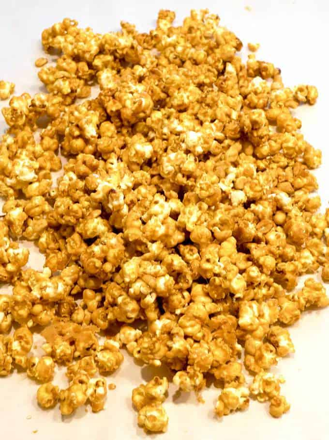 Old-Fashioned Caramel Corn PudgeFactor.com