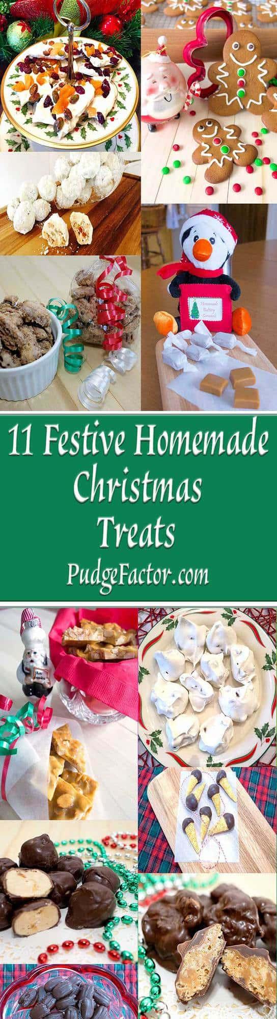 11 Festive Homemade Christmas Treats