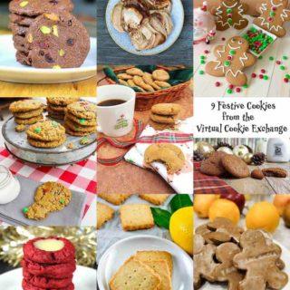 9 Festive Cookies Virtual Recipe Exchange