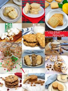 12 Days of Festive Christmas Cookies