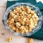 Old-Fashioned Caramel Corn is sweet, crunchy, and totally addictive. When stored in an airtight container, caramel corn will keep for several weeks.
