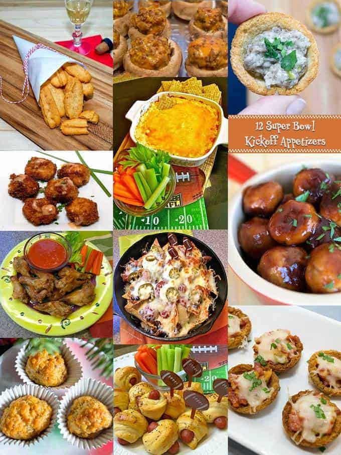 12 Super Bowl Kickoff Appetiizers