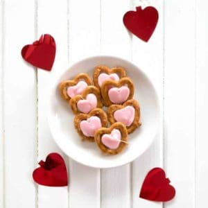Valentine's Sweetheart Pretzels