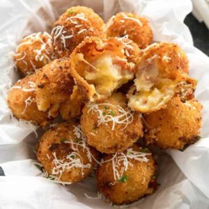 Fried Loaded Potato Balls