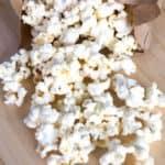 Skinny Microwave Popcorn in a Bag