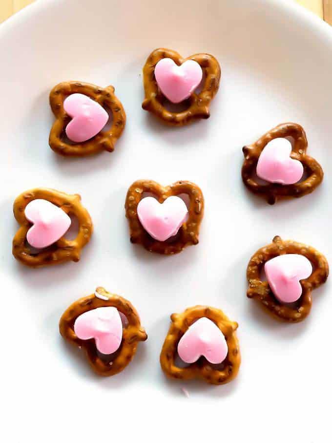 Valentines Sweetheart Pretzels