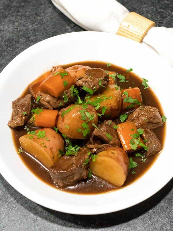 Irish Beef Stew (Slow Cooker) Recipe — Dishmaps