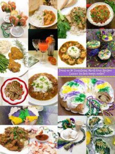 From easy beginnings to dramatic endings and everything in between, tempt your tastebuds with 20 tantalizing Mardi Gras recipes.