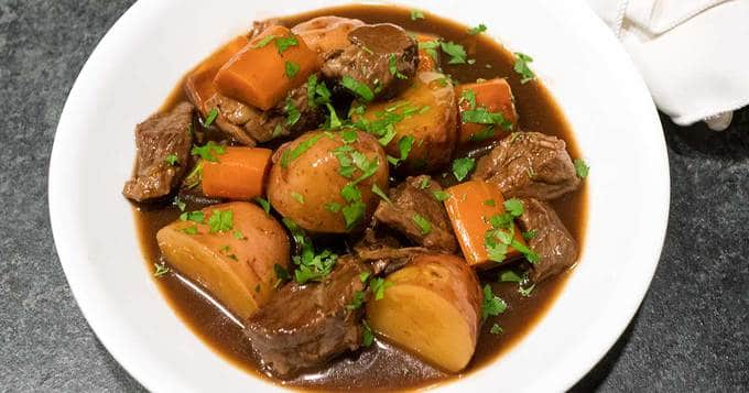 Slow Cooker Irish Guinness Beef Stew The Pudge Factor