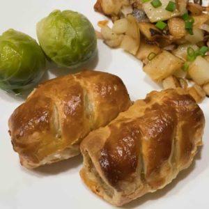 Easy Peasy British Sausage Rolls