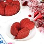 Red Velvet Madeleines for Valentine's Day