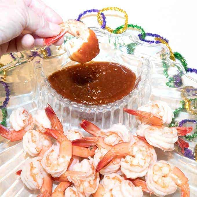Ready in minutes and always a crowd pleaser, Classic Shrimp Cocktail is the perfect make-ahead appetizer for your next Mardi Gras or anytime gathering.