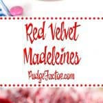 Heart-shaped Red Velvet Madeleines with a lemon glaze are a perfect confection for Valentine's Day. They are easy to make and absolutely delicious!