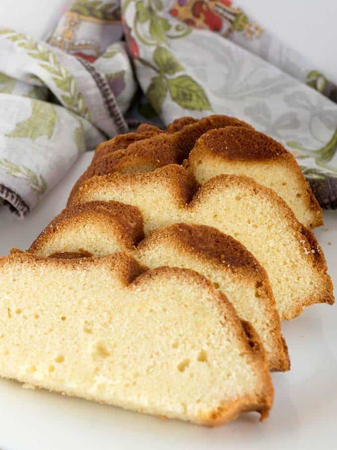 Rich Buttery Pound Cake Recipe