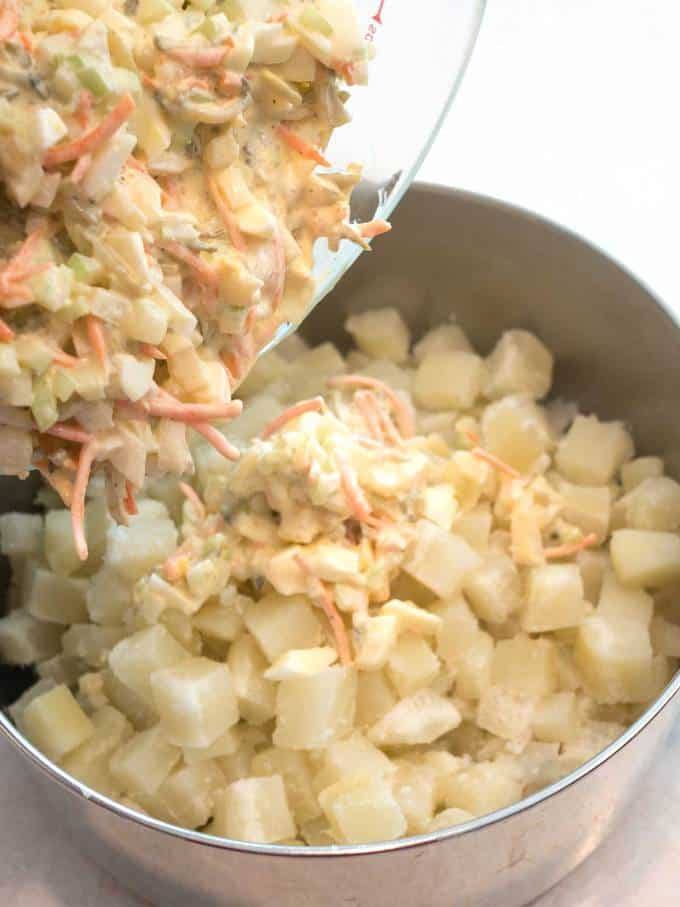 Southern Style Potato Salad with a Twist