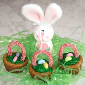 Easy Easter Basket Cookie Cups