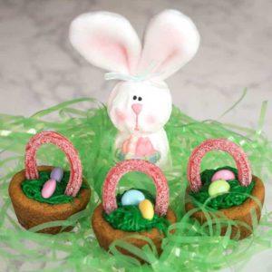 Easy Easter Basket Cookie Cups