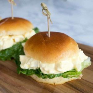 Tasty Egg Salad Sliders