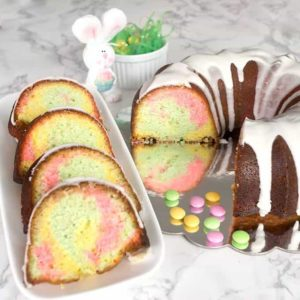 Easter Surprise Lemon Bundt Cake