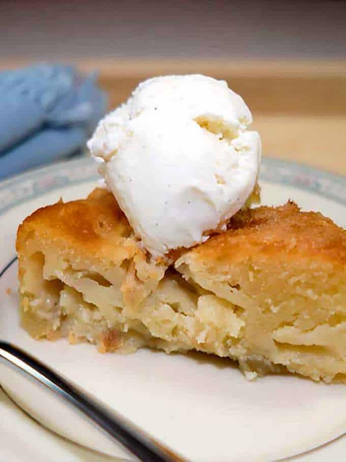 French Apple Cake - The Pudge Factor