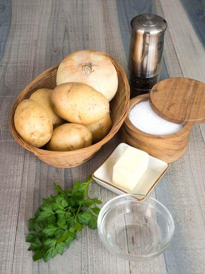 Potatoes Lyonnaise