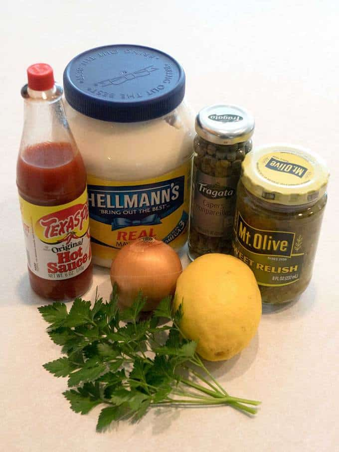 Quick and Easy Traditional Tartar Sauce