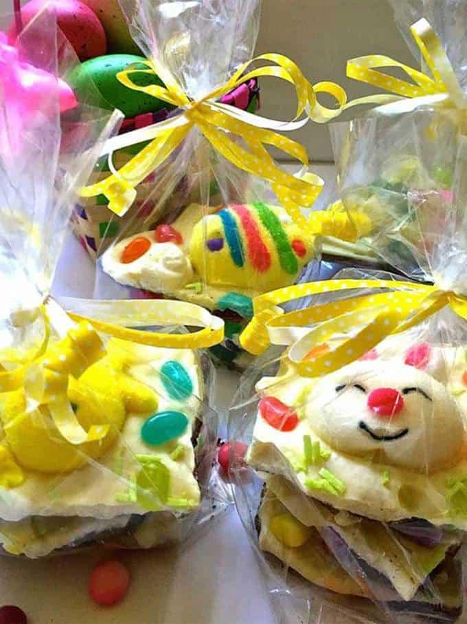 Easter Bunny White Chocolate Bark