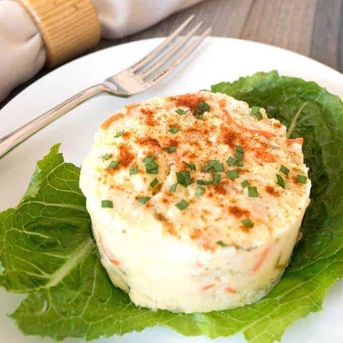 Southern Style Potato Salad with a Twist