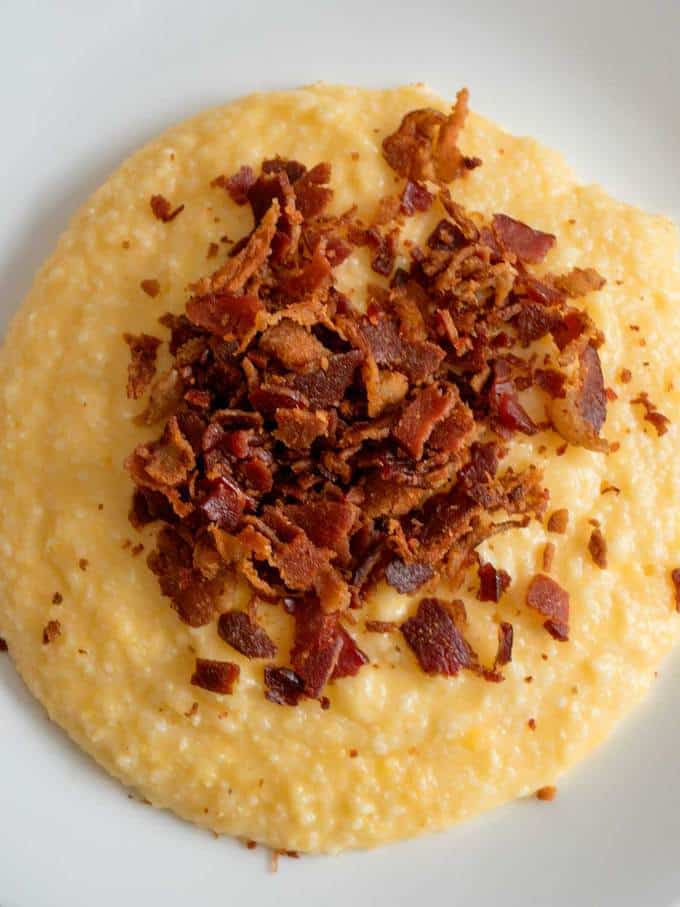 My Mother's Southern Cheese Grits