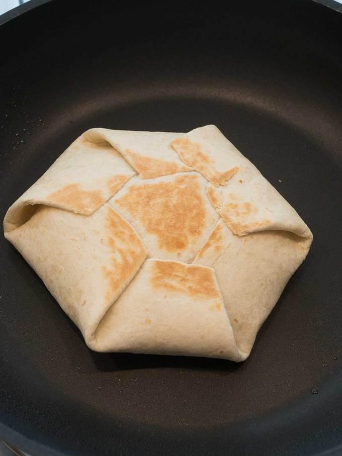 Tasty 7 Layer Quesadilla Wrap